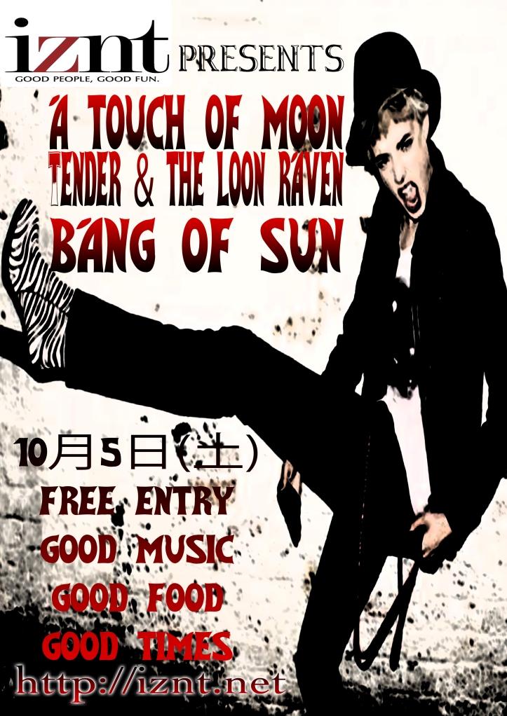 Bang of Sun LIVE at IZNT, Sannomiya, 2013-10-05